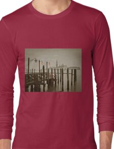 Misty Morning in Venice Long Sleeve T-Shirt