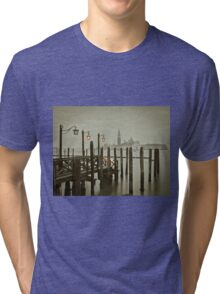 Misty Morning in Venice Tri-blend T-Shirt