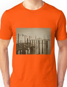 Misty Morning in Venice Unisex T-Shirt