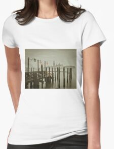 Misty Morning in Venice Womens Fitted T-Shirt
