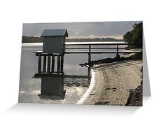 Maroochy Fisherman's Shed at Dawn Greeting Card