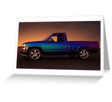 CHEVY SILVERADO  Greeting Card