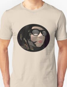 Neo Baroque portrait of a robot librarian  T-Shirt