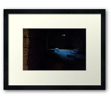 Deep inside Karak Castle Framed Print