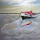 Jacqueline Stephenson, Coble, Boulmer by Sue Nichol