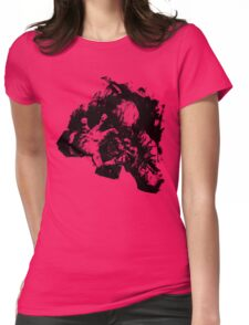 Leroy (Messy Ink Sketch) Womens Fitted T-Shirt
