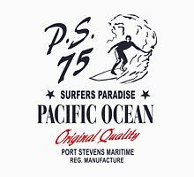 Surfers Paradies - Pacific Ocean Surfing Unisex T-Shirt