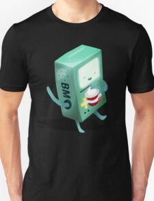 Oh BMO, how'd you get so pregnant? Unisex T-Shirt