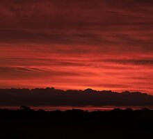 Sunset - Berri, South Australia by Dwayne Madden