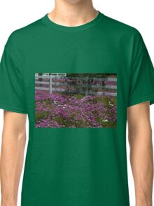 Pink Flax, SR 42, Summerfield Florida, USA Classic T-Shirt