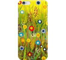 Happy Little Garden 1 iPhone Case/Skin