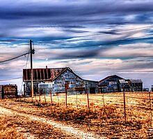 Old Barn - Forrestburg, Texas by jphall
