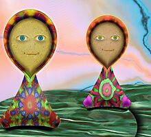 Folkloric Dolls by lacitrouille