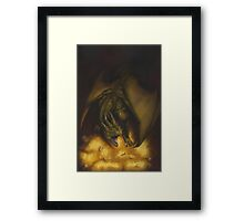 El tesoro del dragon Framed Print