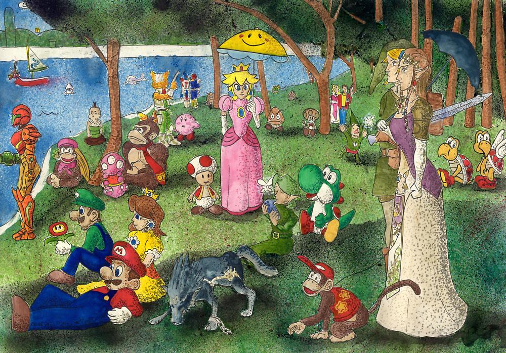 Sunday Afternoon on the Island of Nintendo by Jesse Rubenfeld
