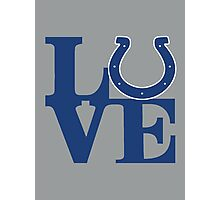 LOVE - Colts Photographic Print