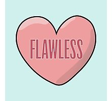 Flawless Heart Photographic Print