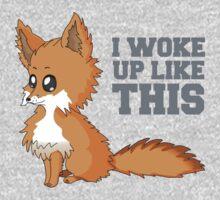 Fox Woke Up Like This One Piece - Short Sleeve