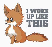Fox Woke Up Like This Kids Clothes