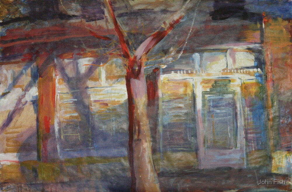 Afternoon Shadows by John Fish