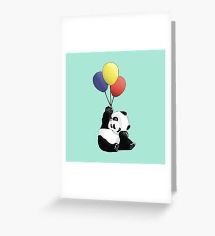 Panda's Happy Day Greeting Card