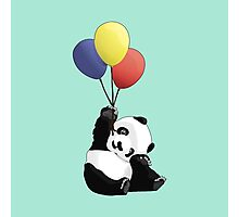 Panda's Happy Day Photographic Print