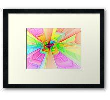 Psychedelic Elevation Framed Print