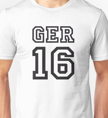 GERMANY 16 Unisex T-Shirt