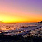 Sunset at Burns Beach, Perth, Western Australia by Georgia Wild