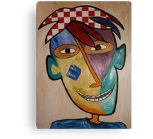Red Headed Kid Canvas Print