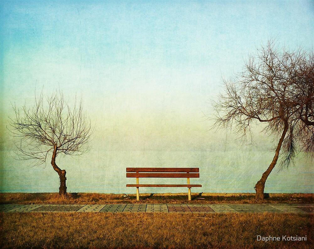the bench by Daphne Kotsiani
