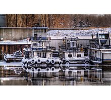 Winter Port Photographic Print