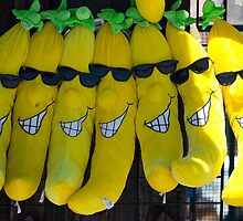 Smiling Bananas (Santa Cruz, California) by Brendon Perkins