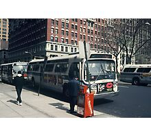 Bus NYC Photographic Print