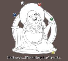 The Juggling Buddha Baby Tee