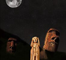 Easter Island The Scream World Tour  by Eric Kempson
