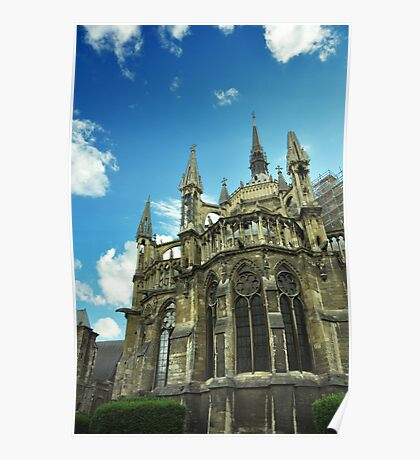 Reims Cathedral Poster