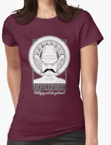 The Great Plains Buddha - El Diablo edition Womens Fitted T-Shirt
