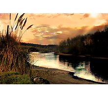 Willamette in the Shadow of the Sun Photographic Print