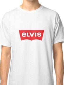ELVIS - Levis Style Logo Classic T-Shirt