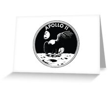 Nasa Graphics Standards Manual 1976 0004 Mission Patches and Other Symbols Apollo 11 Greeting Card