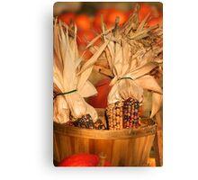 Pumpkin arrangement for sale Canvas Print