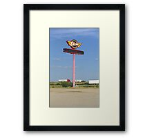 Route 66 - Dixie Truckers Home Framed Print