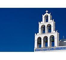 Bells Of Santorini Photographic Print