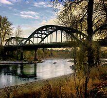 Clakamas Bridge by Shirley Tyler-Bowman