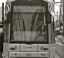 The Trams of Glenelg, Australia by Ali Brown