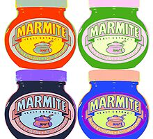 Marmite pop art by a0905671