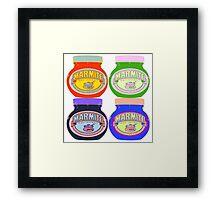 Marmite pop art Framed Print