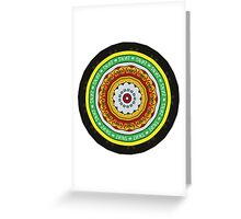 Marmite Circle Greeting Card