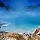 Yellowstone Geyser by Bob Moore